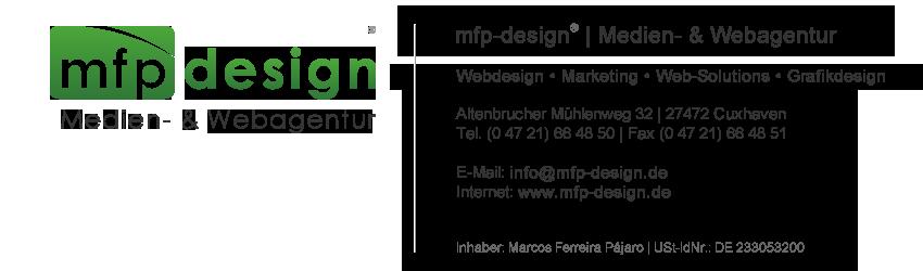 mfp-design® | Medien- & Webagentur [ Webdesign • Marketing • Web-Solutions • Grafikdesign ] - CUXHAVEN