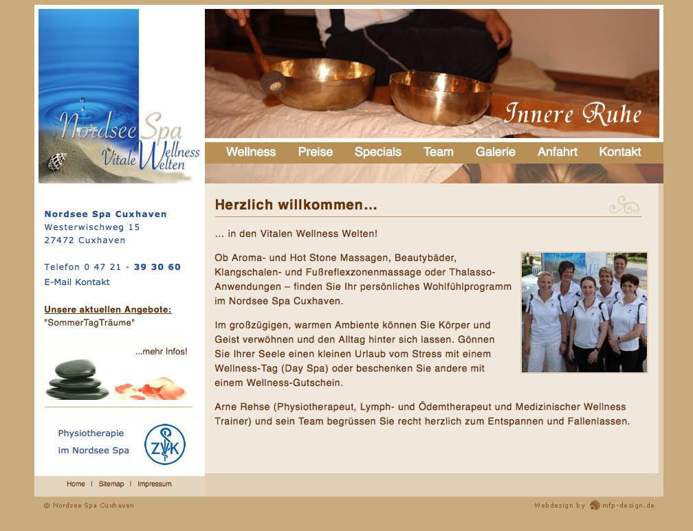 Webdesign Nordsee Spa Cuxhaven - Cuxhaven
